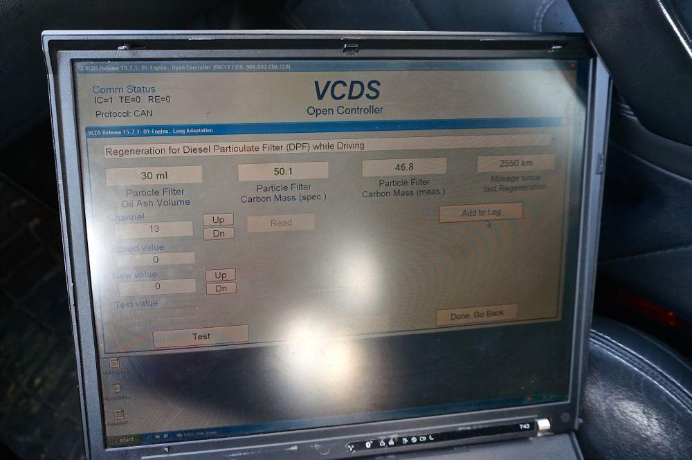 Anulare dpf Skoda Octavia vRS - 02