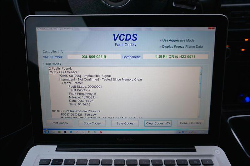 Anulare EGR VW Golf 6 1.6tdi - 17