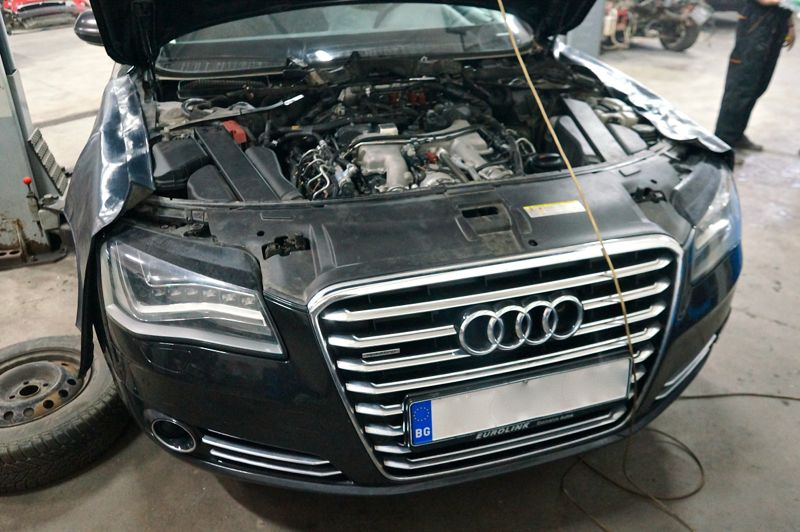 Anulare dpf Audi A8 4.2TDI - 09