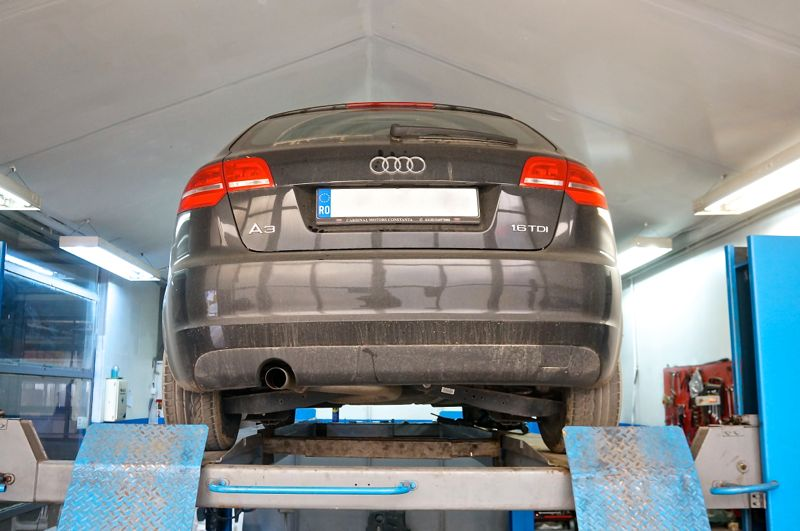 Anulare dpf si egr Audi A3 1.6TDI - 11