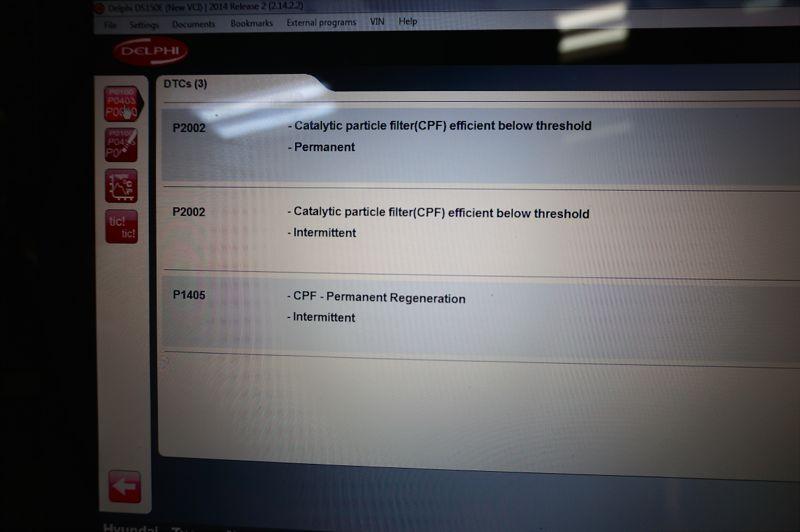 Anulare filtru de particule Hyundai - 14