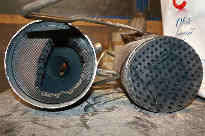 Anulare filtru de particule Mercedes Sprinter - 40