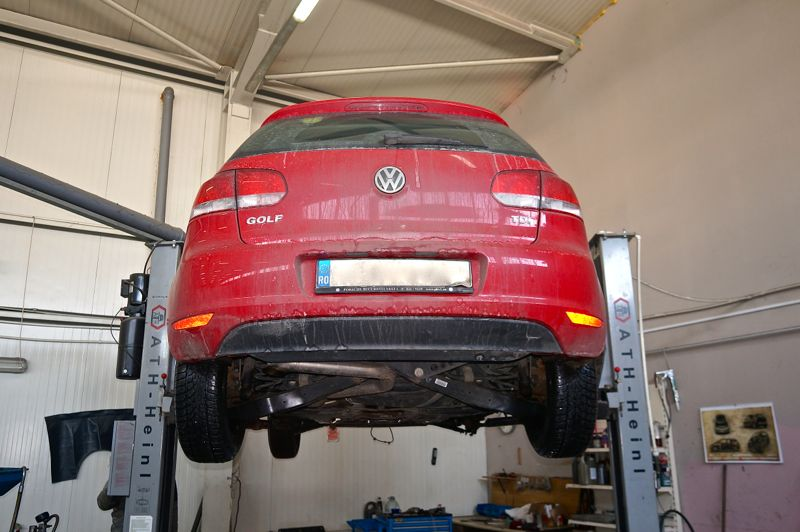Anulare dpf VW Golf 6 - 01