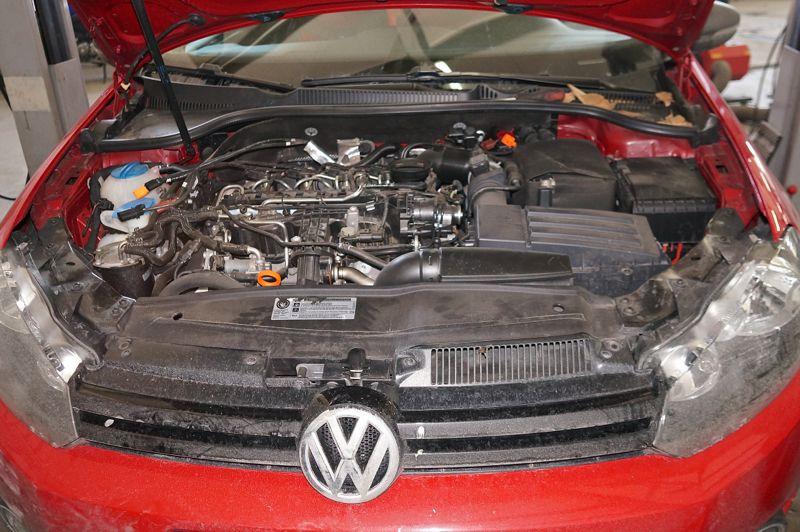 Anulare dpf VW Golf 6 - 02