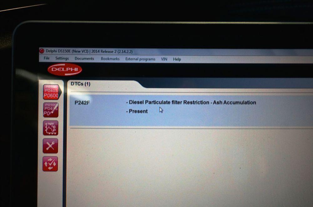 Anulare filtru de particule Ford Focus - 343