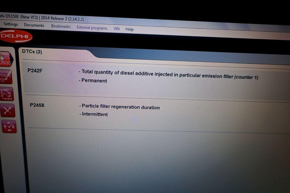 Anulare filtru de particule Ford Focus - 363